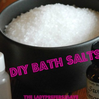 Relaxation & Rejuvenation Sundays: DIY Bath Salts Recipe!