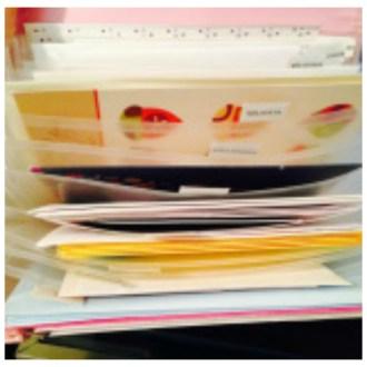 Organizational Ideas: Holiday Greeting Card Organizer