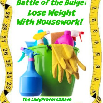 Battle-Of-The-Bulge, Budget Style: Lose Weight With Housework!