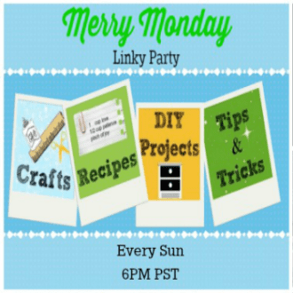 Welcome to the Merry Monday Link Party #38!