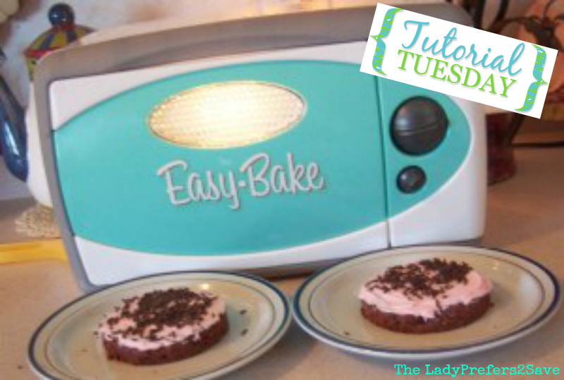 Homemade Easy Bake Oven Chocolate Cake Mix Frosting Kits