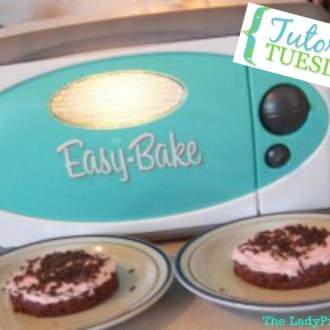 Homemade Easy Bake Oven Chocolate Cake Mix & Frosting Kits