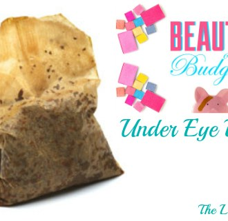Beauty On A Budget: Under Eye Bag Fix!