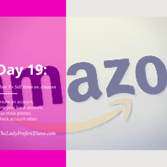 February No Spend Month Challenge: Day 19 (How to Sell on Amazon.com)