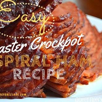 Crockpot Spiral-Cut Ham Recipe!