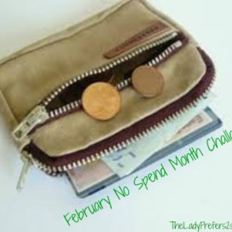 February No-Spend Month Challenge: Day 5 (Coupon Swap)