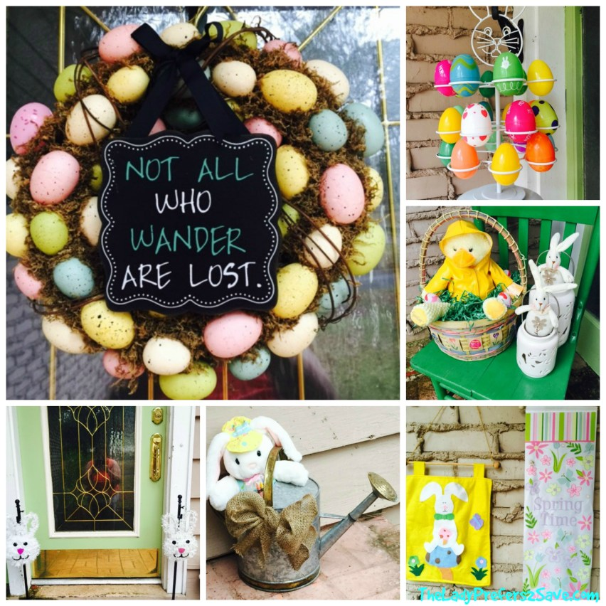 easter porch reveal