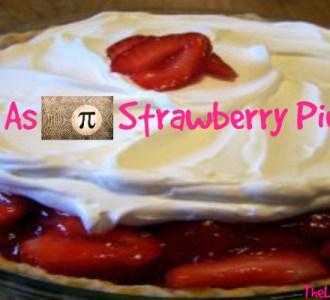 Easy as Pi Strawberry Pie Recipe!