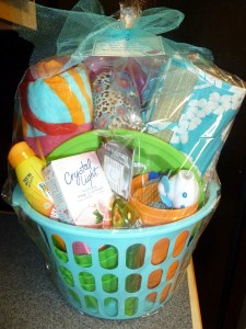 $6.00 Dollar Tree Spring Break Basket!