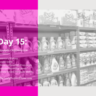 April No-Spend Month Challenge: Day 15 ( Cleaning Out Your Stockpile)