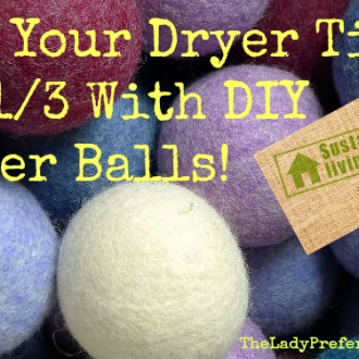 DIY Dryer Ball Tutorial