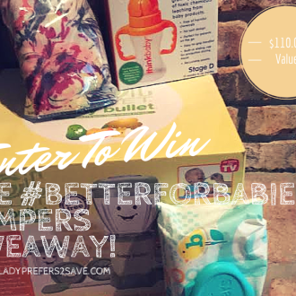 PAMPERS #BETTERFORBABY CAMPAIGN & GIVEAWAY!
