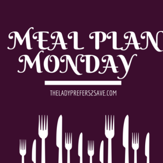 Meal Plan Monday!