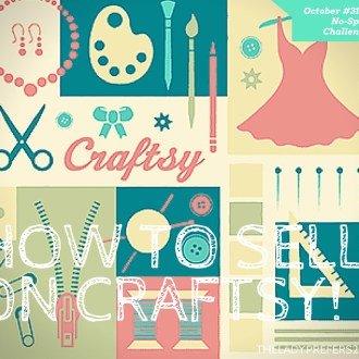 October No-Spend Daily Challenge Day 19: How to Sell on Craftsy
