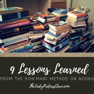 9 Lessons Learned from the Kon'Mari Method on Books