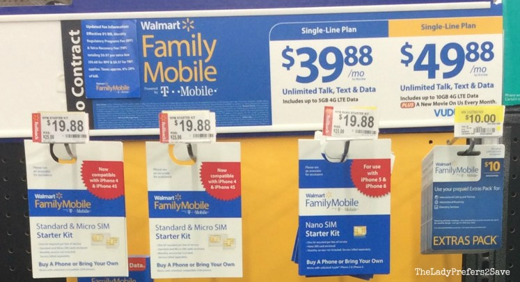 Walmart mobile