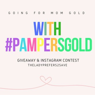 Going for Mom Gold with #PampersDreams & Giveaway!