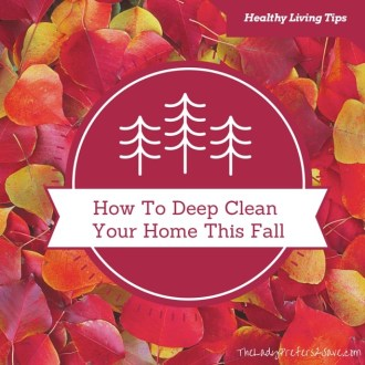 Fall Zone Cleaning List!