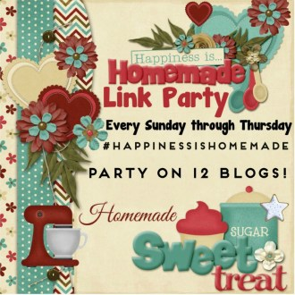 Welcome back to this week's Happiness is Homemade Linky Party