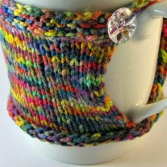 DIY Crochet Coffee Cup Cozy