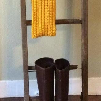 DIY Crochet Cowl Neck Scarf