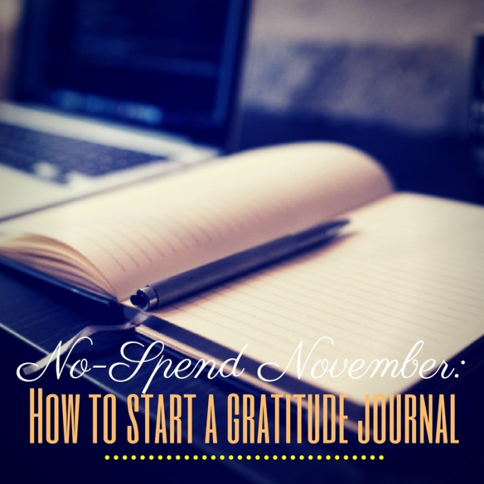 how to create a gratitude jorunal
