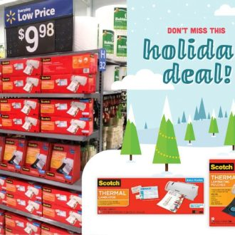 Save on Scotch™ Thermal Laminators at Walmart