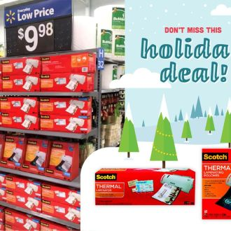 Save on 3M Scotch™ Laminators & Pouches at Walmart