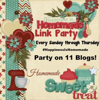 Welcome to this Week's Happiness is Homemade Linky Party