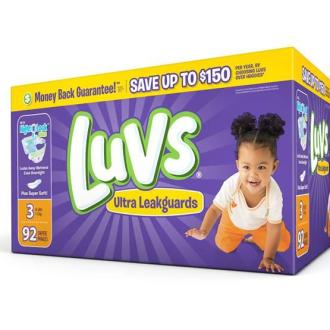 Moms: Save This Month on Luv's Diapers!