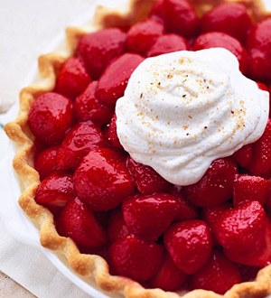 Pi  Day Strawberry Pie Recipe