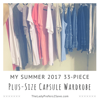 My Summer 2017 Plus Size Capsule Wardrobe