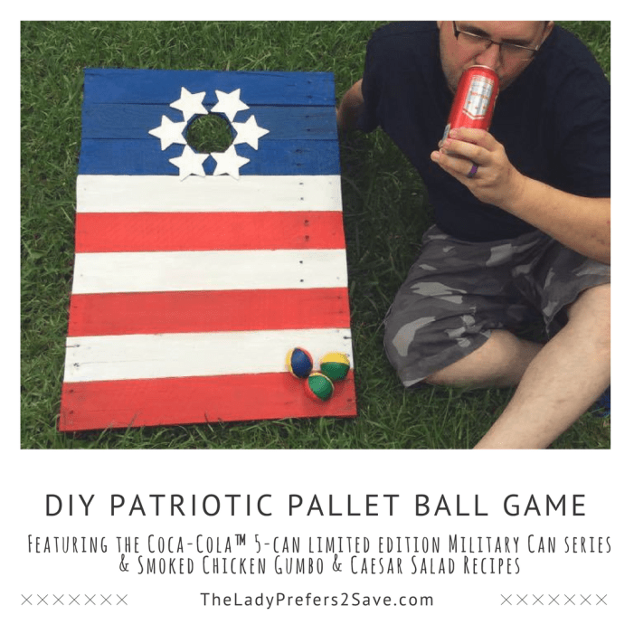 How To Make A DIY Patriotic Pallet Ball Game