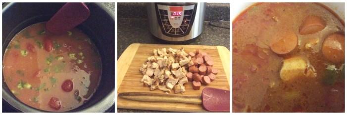 DIY Pressure Cooker Chicken Gumbo