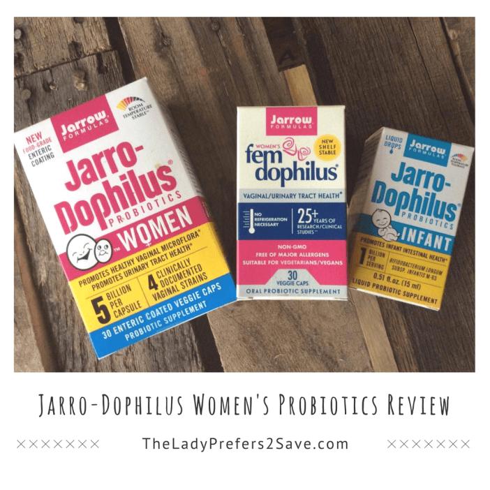 Jarro-Dophilus Women's Probiotics Review