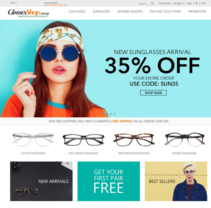 Look Your Best This Fall with GlassesShop.com
