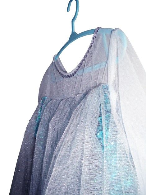 Because every Snow Queen needs a frosty cape...
