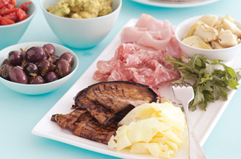 Share plate - healthy