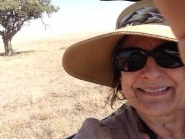 Selfie in the Serengheti