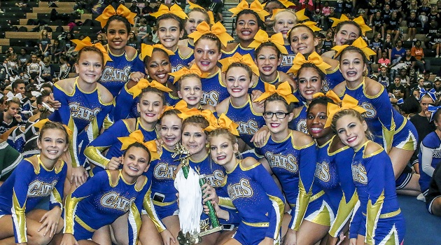 Lexington Middle won First Place in the Middle School Division