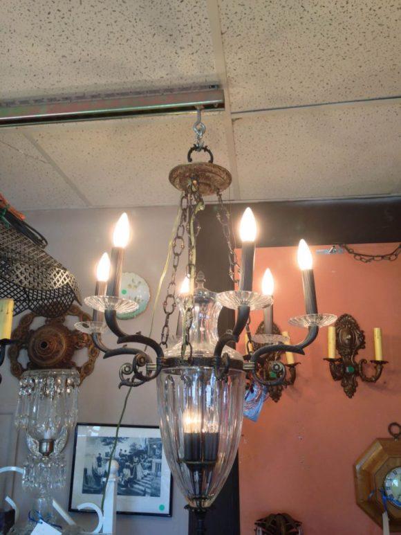 bronze-glass-chandelier