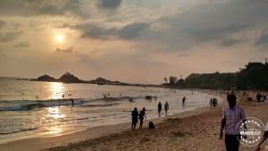 Om Beach sun set