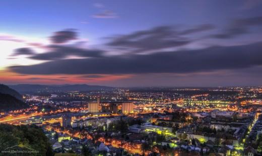 Maribor, sončni vzhod