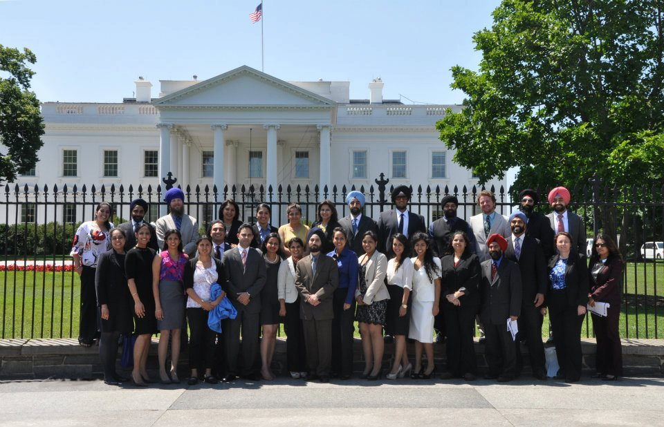 Sikhs at the White House, June 2012. (source: Sikh Coalition)
