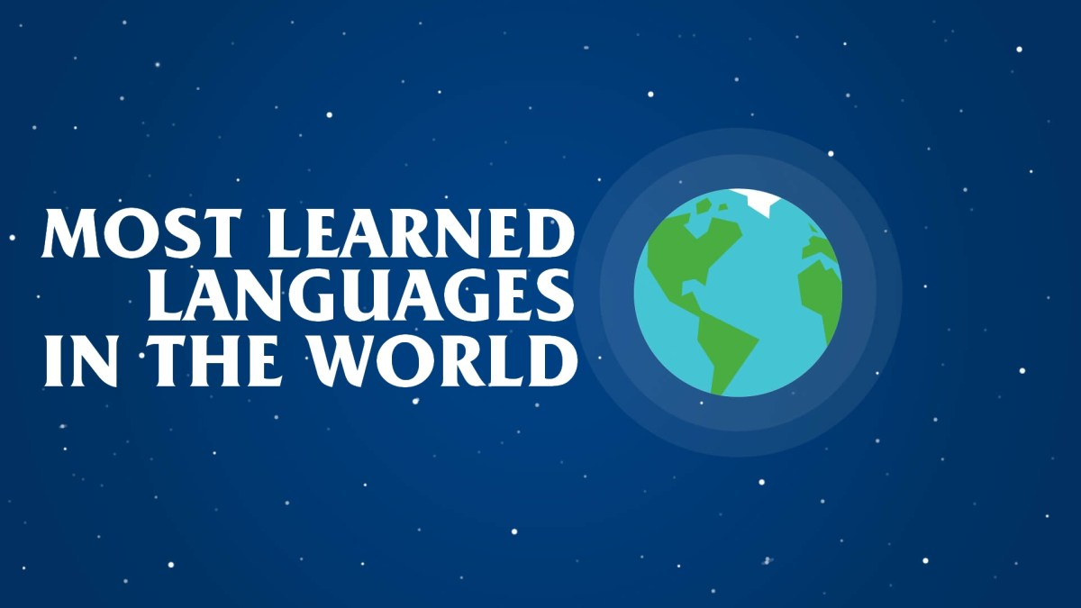 The languages the world is trying to learn, according to Duolingo.
