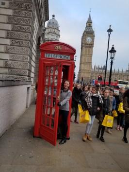 London called, I answered