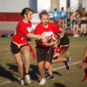 Homecoming 2010: Powderpuff Football Game