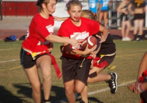 Homecoming 2010: Powderpuff Football Game