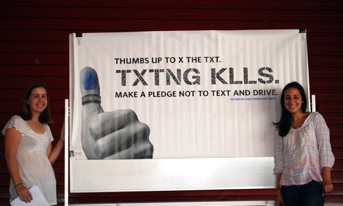 "CCHS Rallies To ""X The Text"""