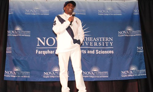 Spike Lee Speaks To Students At Nova Southeastern University